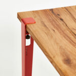 TIPTOE dining table top with table leg