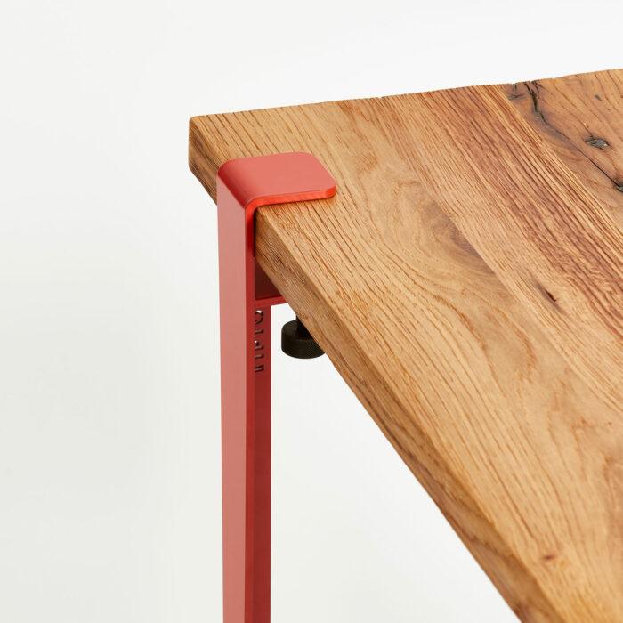 Plateau de table basse en bois ancien recyclé TIPTOE
