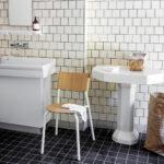 Chaise TIPTOE en bois et métal blanc