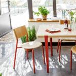 Chaise design pour table à manger TIPTOE