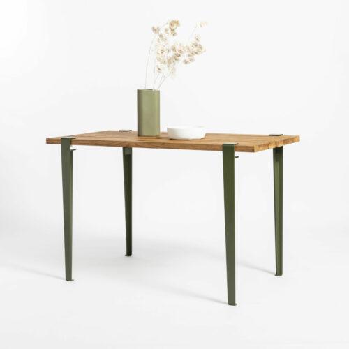 Table à manger de cuisine TIPTOE en bois ancien recyclé