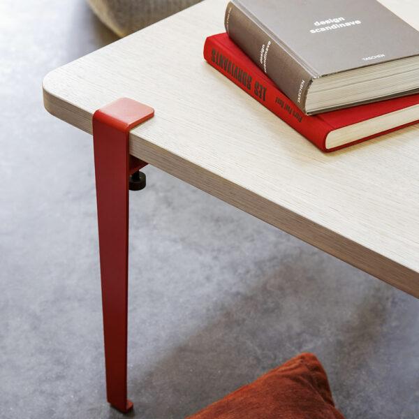 Pied pour table basse et banc en métal TIPTOE