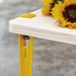 TIPTOE industrial style metal table and desk leg