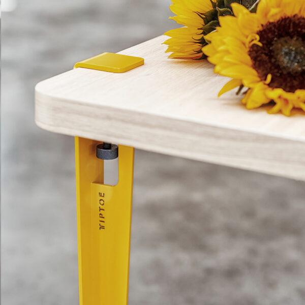 Pied de table et bureau TIPTOE en métal style industriel