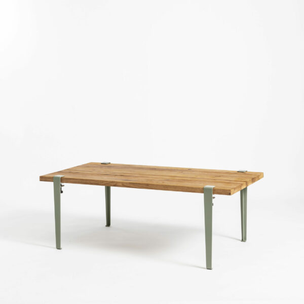 Table basse TIPTOE en bois ancien recyclé