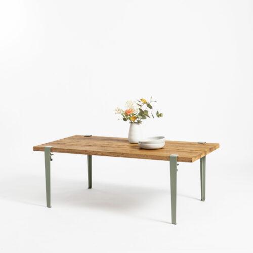 Old recycled wood coffee table TIPTOE