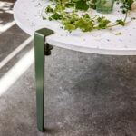 TIPTOE coffee table and bench leg industrial and design clamp
