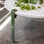 Pied de table basse et banc TIPTOE serre-joint industriel et design