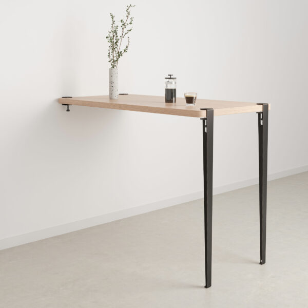 Bar table leg (110cm) and wall BRACKET