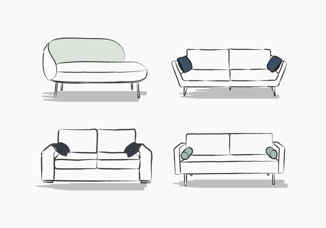The TIPTOE sofa (update #1): we have more to tell you about it!