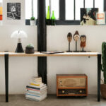 Pied de table haute – 90cm