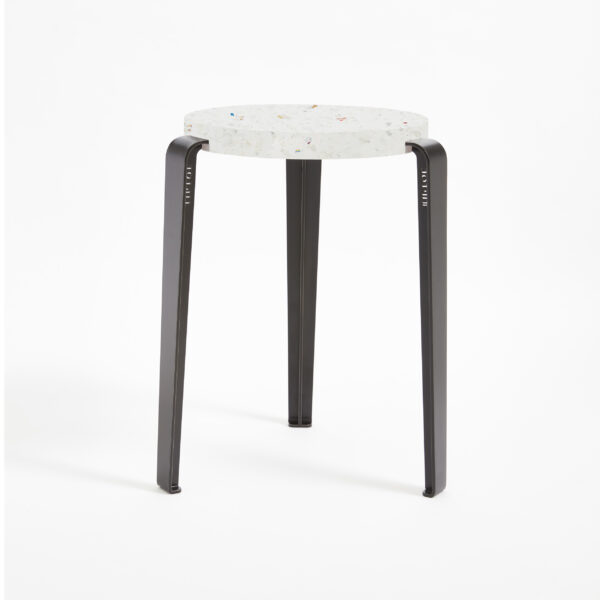 LOU stool in recycled plastic VENEZIA