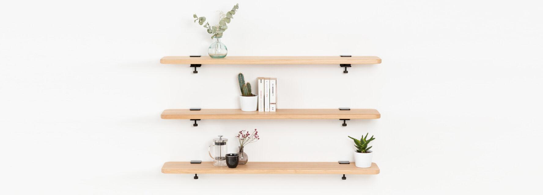 Wall-mounted Bookshelves - TIPTOE