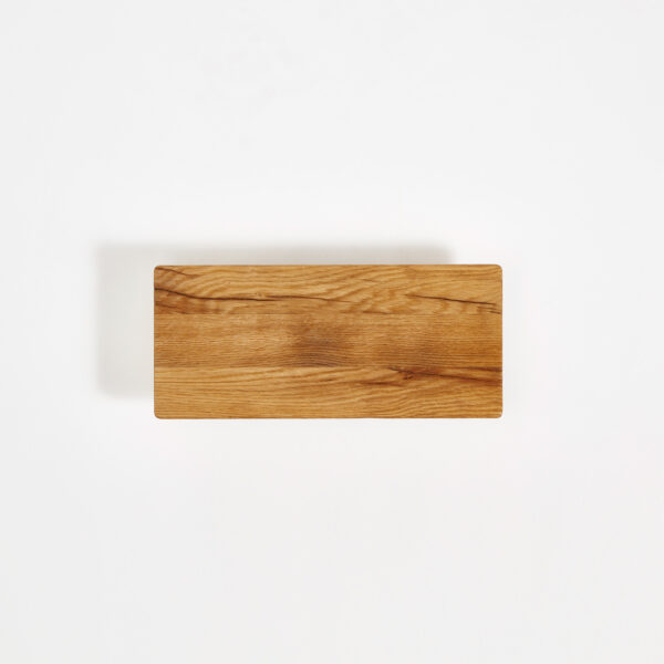 Etagère murale en bois ancien recyclé - 45x20cm