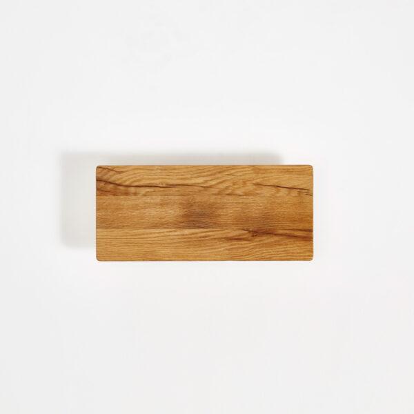 Etagère murale en bois ancien recyclé - 90x20cm