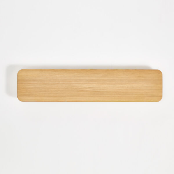 Solid oak shelf - 120x20cm