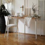 Table à manger LOBO bois ancien recyclé