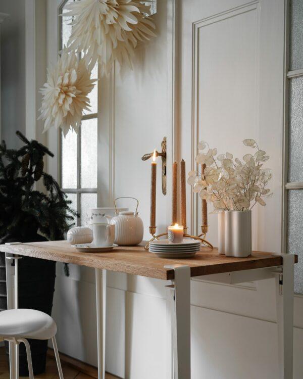 LOBO table in reclaimed wood