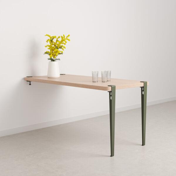 Table à manger murale – bois éco-certifié