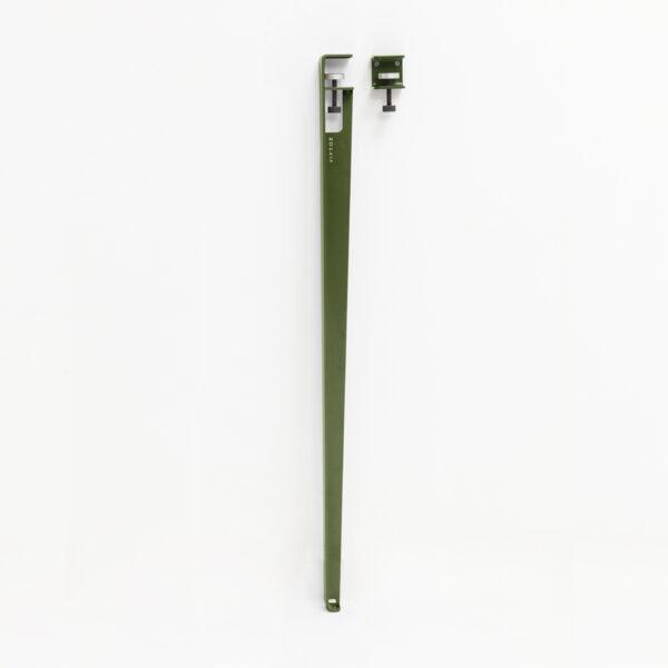 Pied de bar 110cm et accroche BRACKET