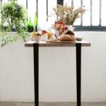 Bar table leg (110cm) and wall BRACKET