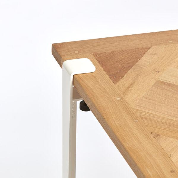Table basse VERSAILLES – chêne massif recyclé
