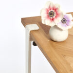 VERSAILLES coffee table - recycled solid oak