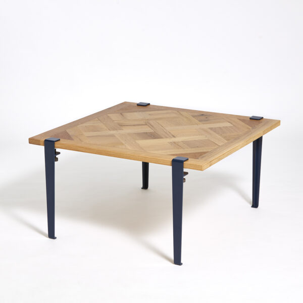 VERSAILLES coffee table – recycled solid oak