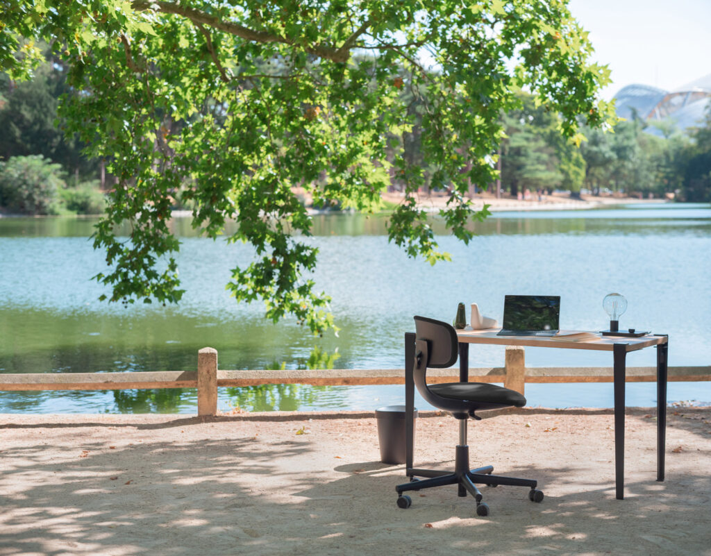 Sowen furnishes teleworking space with TIPTOE