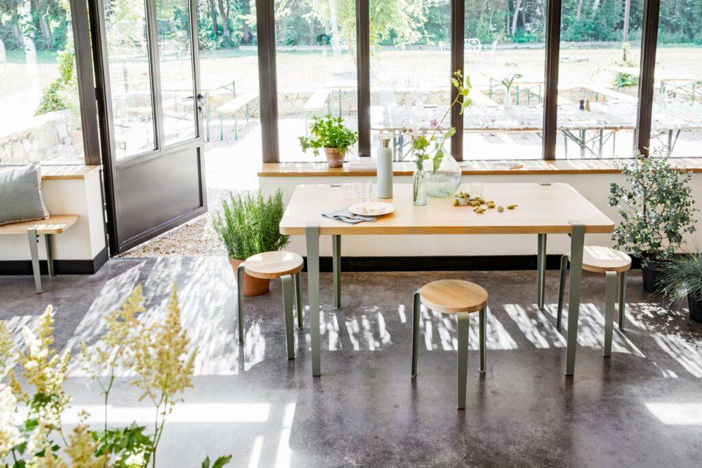Quelle hauteur de pieds de table pour ma table ?