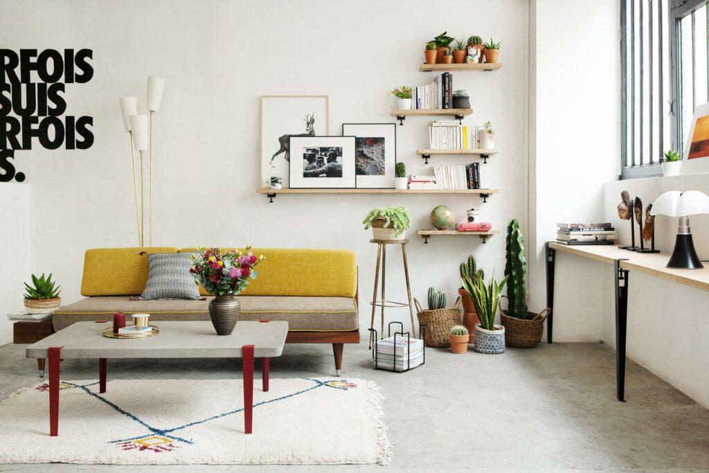 How to mount TIPTOE wall shelves?