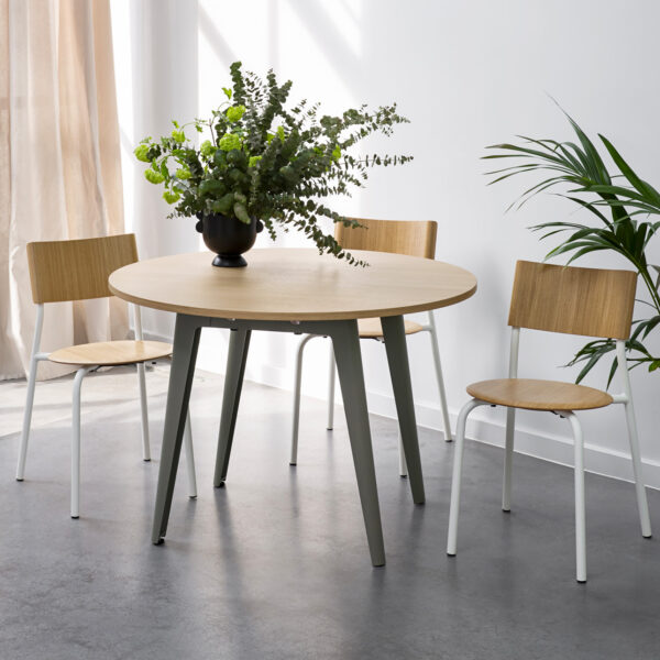 Table ronde NEW MODERN - bois éco-certifié
