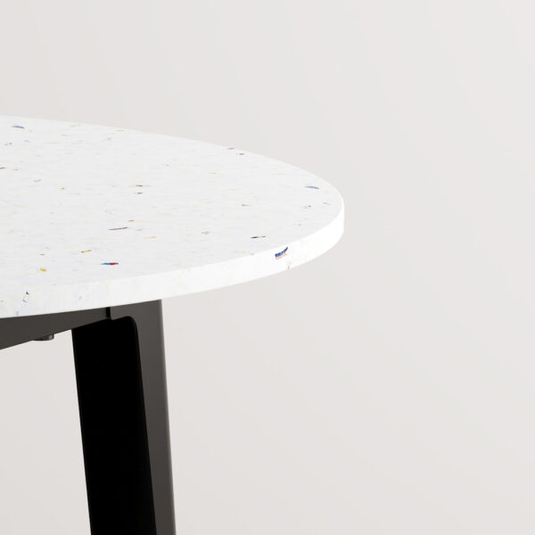 Table ronde NEW MODERN - plastique recyclé