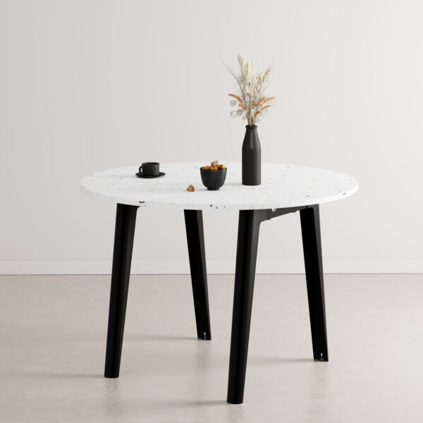 Table ronde NEW MODERN - plastique recyclé