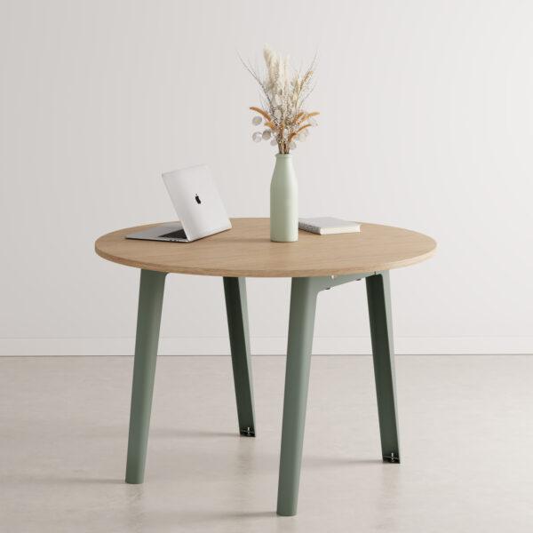 Table de réunion ronde NEW MODERN - bois éco-certifié