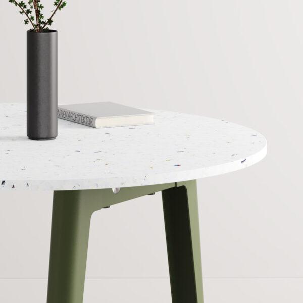 Table de réunion ronde NEW MODERN - plastique recyclé