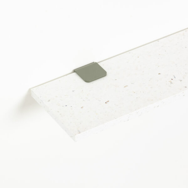 Etagère murale plastique recyclé Blanc Venezia – 90x20cm