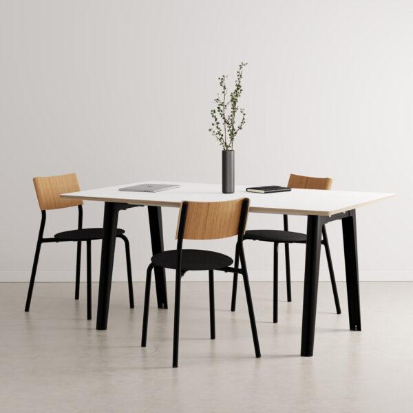 Table de réunion NEW MODERN – multiplis blanc